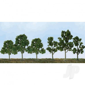 "JTT 92120 Deciduous Sycamore, 2.5"" to 4.5"", N to HO-Scale, (40 pack) Trees For Scenic Diorama Model Trains"