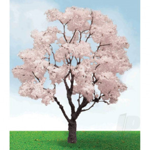 "JTT 92321 Blossom Cherry Tree, 3"" to 3.5"", (2 pack) For Scenic Diorama Model Trains"