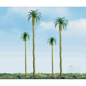 """JTT 94239 Palm, 4"""", (3 pack) Trees For Scenic Diorama Model Trains"""
