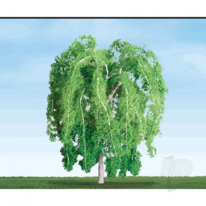 """JTT 94269 Weeping Willow, 2-1/2"""", (3 pack) Trees For Scenic Diorama Model Trains"""