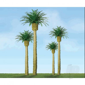 "JTT 94354 Phoenix Palm, 3"", (3 pack) Trees For Scenic Diorama Model Trains"