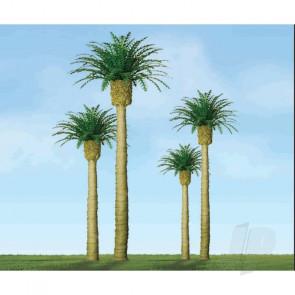"JTT 94355 Phoenix Palm, 4"", (2 pack) Trees For Scenic Diorama Model Trains"