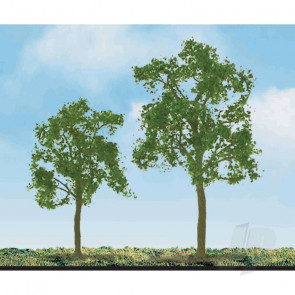 """JTT 94423 Ash Tree, 2"""", (4 pack) For Scenic Diorama Model Trains"""