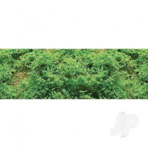 JTT 95057 Coarse Foliage Clumps, Light Green, 50 Sq. in For Scenic Diorama Model Trains