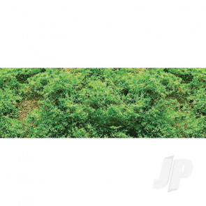 JTT 95064 Fine Foliage Clusters, Light Green, 150 Sq. in For Scenic Diorama Model Trains