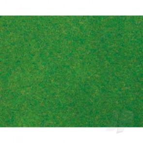 "JTT 95413 Grass Mats, Light Green, 19""x25"", Z-Scale For Scenic Diorama Model Trains"
