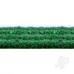 """JTT 95515 Flower Hedges, 5""""x3/8""""x5/8"""", HO-Scale, (8 pack) For Scenic Diorama Model Trains"""
