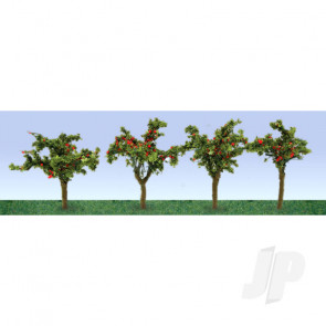 """JTT 95517 Apple Field, 1-3/8"""", HO-Scale, (12 pack) For Scenic Diorama Model Trains"""