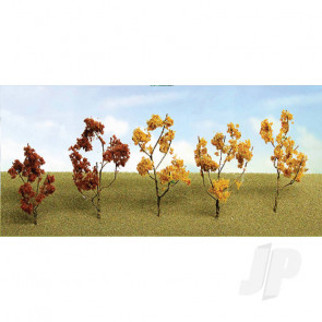 """JTT 95521 Fall Mixed Branches, 1.5"""" to 3"""", (60 pack) For Scenic Diorama Model Trains"""