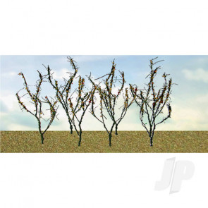 """JTT 95522 Dry Leaves Branches, 1.5"""" to 3"""", (60 pack) For Scenic Diorama Model Trains"""