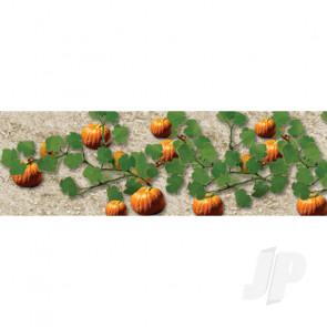 """JTT 95532 Pumpkins, 2-1/2"""" Tall, O-Scale, (6 pack) For Scenic Diorama Model Trains"""