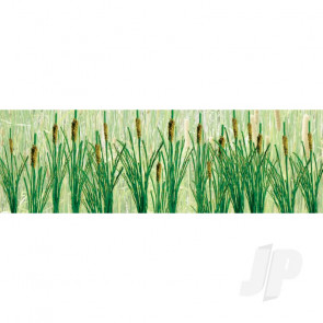 "JTT 95536 Cattails, 1-1/2"" Tall, O-Scale, (24 pack) For Scenic Diorama Model Trains"