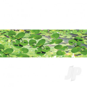 "JTT 95537 Lily Pads, 3/4"" Tall, HO-Scale, (12 pack) For Scenic Diorama Model Trains"