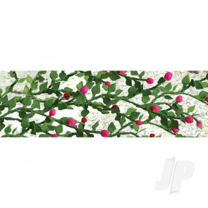 "JTT 95539 Rose Vines, 1-3/8"" Tall, HO-Scale, (6 pack) For Scenic Diorama Model Trains"