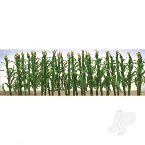 "JTT 95553 Corn Stalks, 2"", O-Scale, (30 pack) For Scenic Diorama Model Trains"