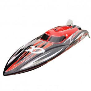 Joysway Alpha RC Brushless Model Racing Boat - ARTR (no Batt/Charger) - Red