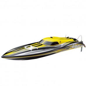 Joysway Alpha RC Brushless Model Racing Boat - ARTR (no Batt/Charger) - Yellow