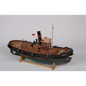 Kalle Radio Control Steam Tug Boat 1:33 Scale Aero-Naut Model Kit