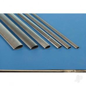 "K&S 1103 Streamline Aluminium 1/2"" x 36"" x .016"" (4 pcs)"