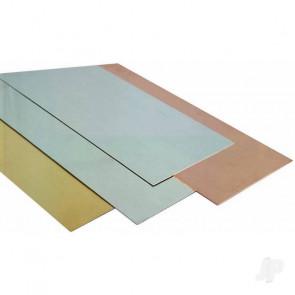 K&S .010in 6x12in Brass Sheet