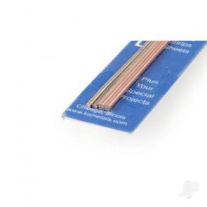 K&S 3/32in Copper Round Rod (12in long) (3 pcs)