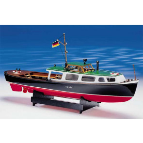 Felix Hamburg Harbour Launch 1:25 Scale Krick Radio Control Model Boat Kit