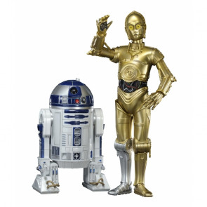 STAR WARS 1:10 C3-PO & R2-D2 ArtFX+ Twin Pack by Kotobukiya KSW67
