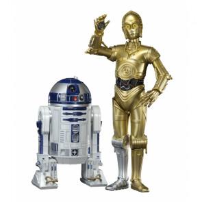 STAR WARS 1:10 C3-PO & R2-D2 ArtFX+ Twin Pack by Kotobukiya KSW67