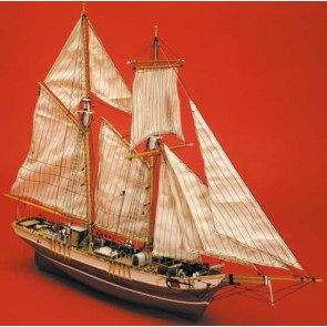 Mantua La Rose. French Fishing Schooner Wooden Kit Scale 1:47