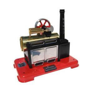 Mamod SP2 Stationary Live Steam Engine, Ready Built, Popular Beginner's Choice  - Great Fun