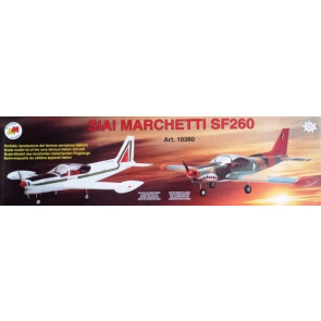 Siai Marchetti SF260 RC Model Plane Kit, Quick Build - Low Wing Semi Scale Plane