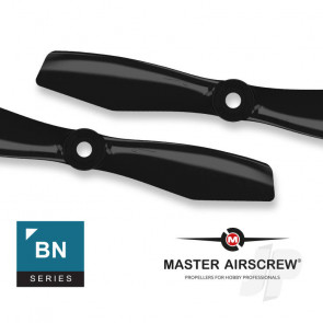 Master Airscrew BN-FPV Bullnose - 5x4.5 Quadcopter Drone Propeller Set 4x Black