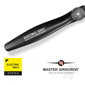 Master Airscrew Electric Only - 8x4 Propeller Reverse Pusher For RC Aeroplane