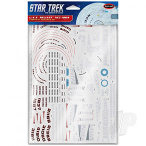 Polar Lights 1:1000 Star Trek U.S.S. Reliant NCC-1864 Aztec Decals For Plastic Kits