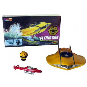Mini Flying Sub from 'Voyage to the Bottom of the Sea' Moebius Plastic Kit 101