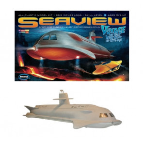 "Huge 39"" Seaview Submarine Voyage To The Bottom Of The Sea Moebius Plastic Kit 707"