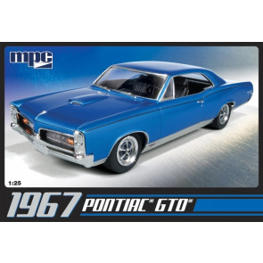 1967 Pontiac GTO 1:25 Scale MPC Detailed Plastic Kit