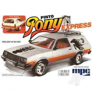 MPC 1:25 1979 Ford Pinto Wagon Pony Express Car Plastic Kit