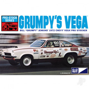 "MPC 1972 Chevy Vega Pro Stock / Bill ""Grumpy"" Jenkins Plastic Kit"