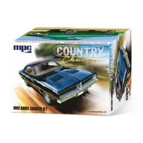 1969 Dodge Charger R/T 1:25 Scale MPC Highly Detailed Plastic Car Kit