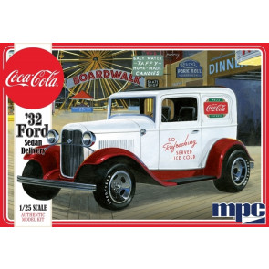 1932 Ford Sedan Delivery Coca Cola 1:25 Scale MPC Plastic Car Kit