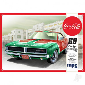 MPC 1969 Dodge Charger RT (Coca Cola) Snap (2T) Plastic Kit