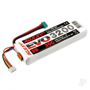 Multiplex Roxxy Evo 3200mAh 11.1v 3S 30C RC Model Plane LiPo Battery