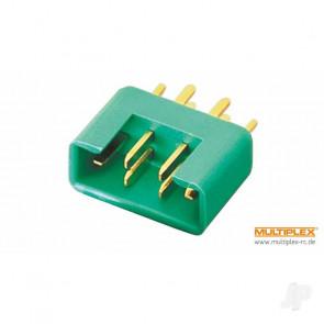 Multiplex MPX M6-50 High-current Plug, Male (100 pcs)