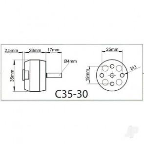 Multiplex ROXXY BL Outrunner (C35-30-1600kV)