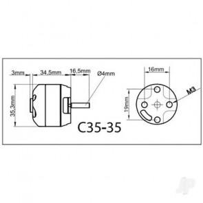 Multiplex ROXXY BL Outrunner (C35-36-950kV)