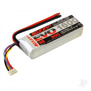 Multiplex Roxxy Evo 1600mAh 11.1v 3S 30C RC Model Plane LiPo Battery