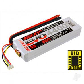 Multiplex Roxxy Evo 4400mAh 11.1v 3S 30C RC Model Plane LiPo Battery