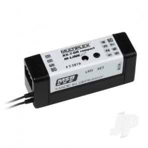 Multiplex Receiver RX-7-Dr Compact M-LINK 2.4GHz 55819