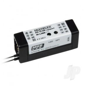Multiplex Receiver RX-12-Dr Compact M-LINK 2.4GHz 55821